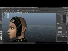 Autodesk Maya 2013 Tutorial - Hair with transparency maps