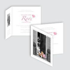 Geboortekaartje Roos, ontworpen door Ontwerp Studio Rottier