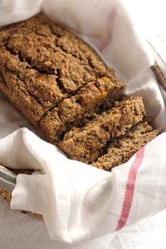 This vegan mango zucchini bread is easy to make, full of wholesome ingredients, and perfectly moist! It's also oil free and so delicious!