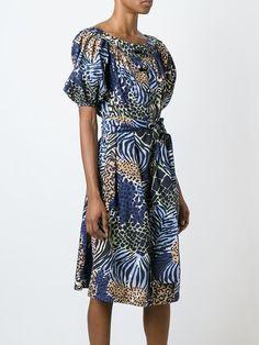 Yves Saint Laurent Vintage animal print dress