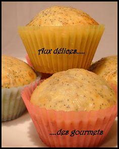 Muffins au citron et au pavot