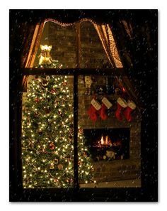 'Twas The Night Before Christmas by Ms Ladyred, via Flickr