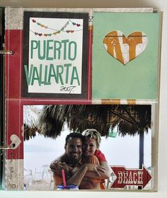 Life Documented SN@P! Binder created by Layle Koncar using our I Heart Summer collection