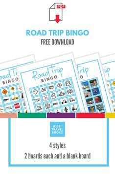 Road trip Bingo Printable » KidsTravelBooks Travel Activities, Activities For Kids, Travel With Kids, Family Travel, Road Trip Bingo, Blank Bingo Cards, Bingo Board, Travel Books, Family Road Trips