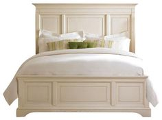 American Drew Ashby Park 3-Piece Panel Bedroom Set with Leg Nightstand - traditional - Beds - Beyond Stores