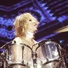 Started playing #drums when I was 10..Didn't know I was gonna have surgery..10歳で #ドラム をはじめた、首の手術をすることになるなんて思っていなかった。