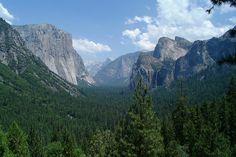 Yosemite National Park (July 11, 2001).