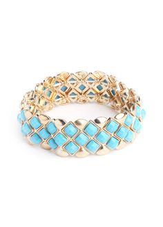 Singing the Blues Bracelet  $16.00