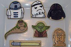 Jill FCS's star wars cookies