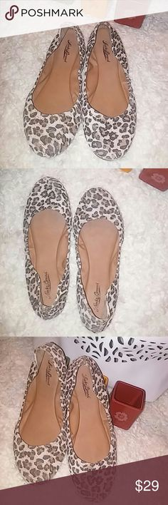 Lucky leapord print flats New. Never worn super cute Lucky flats. Lucky Brand Shoes Flats & Loafers
