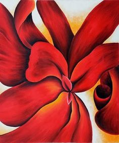 georgia-o-keeffe-red-cannas
