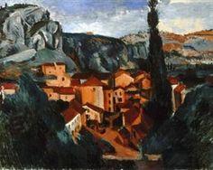 A Village - Andre Derain