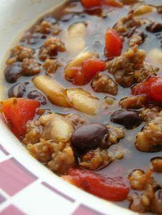 Italian Sausage & Bean Soup