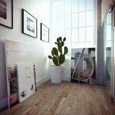 Inspirational Interior: Industrial Loft by Ando-Studio - Jennifer Cederstam Home Design, Loft Estilo Industrial, Interior Architecture, Interior And Exterior, Hipster Apartment, Living Room Decor, Living Spaces, 3d Studio, Home And Living