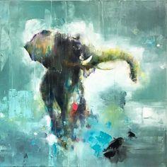 Tótem I (2017) | Oil on canvas | @maria_alvarez_e | www.mariaalvarezestevez.com