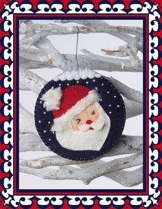 Weihnachtskugel Weihnachtsmann