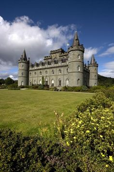 "Inveraray Castle, Argyll, Scotland. ""Inveraray Castle promises a gentle Reception and its interior cherishes every Hope"", so wrote a visitor in 1789 as the present Castle building reached its completion. When in 1743 Archibald, Earl of Islay, succeeded to the title of 3rd Duke of Argyll he initiated one of the most imaginative rebuilding projects ever undertaken in the Highlands."