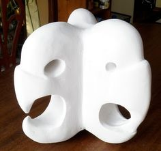 Abstract Plaster Carving of the Word Arbitrate