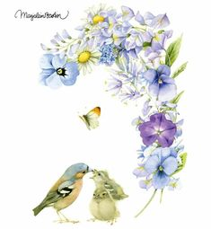 Marjolein Bastin, her works are soooooo beautiful! Marjolein Bastin, Nature Artists, Dutch Artists, Nature Paintings, Bird Art, Painting & Drawing, Watercolor Art, Illustrators, Illustration Art
