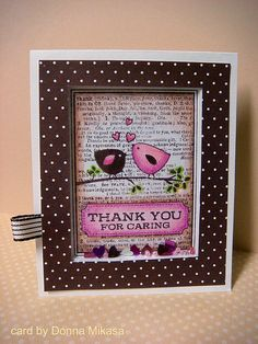Thank you shaker card | I've made shaker cards before but Li… | Flickr