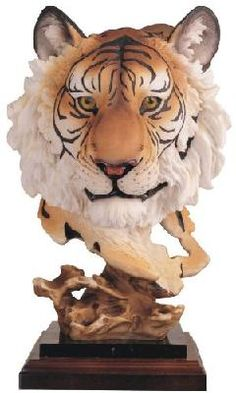 Housewarming gift! Lol Bengal Tiger Collectible Wild Cat Animal Decoration