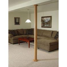 Pole Wrap Oak 8 Ft H Basement Column Cover Price