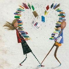 """""""Non ci sono amicizie più rapide di quelle tra persone che amano gli stessi libri"""" #LoveBooks"""