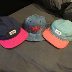 Hat bundle Adidas SnapBack and two shaw park strap back five panel camp hats Adidas Accessories Hats