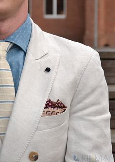 Linen suit by #kiermanstyle #linensuit #doublebreasted #linendoublebreasted #dwurzędówka
