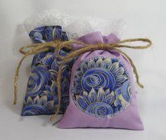 Lavender Sachets Set of 2 Dried Lavendar door MelodySpringsStore