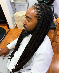 Dreadlock Hairstyles For Men, Dreadlock Styles, Dreads Styles, Braided Hairstyles, Dreadlocks Men, Locs, Beautiful Dreadlocks, Candy Hair, Dreads Girl