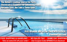Pool And Hot Tub Opening Supplies And Parts - This Week's Specials Spa Chemicals, Swimming Pool Chlorine, Portable Spa, Saving Money, Ph, Coupons, Archive, Paris, Coupon