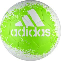 adidas Performance X Glider II Soccer Ball White/Solar Green/Black Size 3 *** Find out more about the great product at the image link. Nike Soccer Ball, Soccer Gear, Soccer Equipment, Soccer Stuff, Free Football, Football Match, Discount Adidas, Football Streaming, Football Predictions