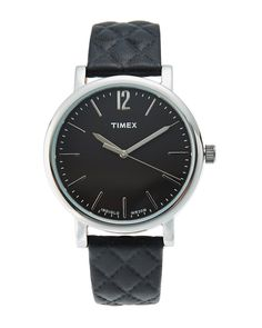 Timex TW2P71100 Silver-Tone & Black Watch
