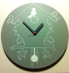 Orologio Draw Up by Weew Up, Clock, Wall, House, Home Decor, Watch, Decoration Home, Home, Room Decor