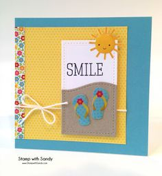 Stamp with Sandy: Smile, RS169, Curtain Call & SSS