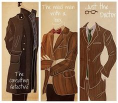 Sherlock and the Doctor :)