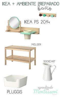 Aprendiendo con Montessori: Ikea y Ambiente Preparado Más