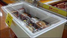 Clear Coffin Case Topper at Wegman's