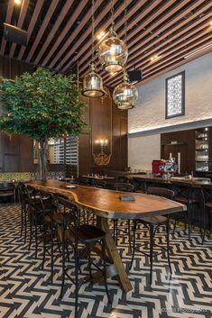Restaurant Design - When Classic Meets Contemporary