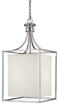 Capital Lighting Fixture Company Stanton Brushed Nickel Three Light Foyer Pendant