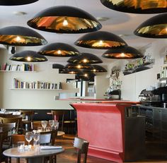Austrian designer Robert Stadler has completed a restaurant for the Corso brand on Place Franz Liszt in Paris.