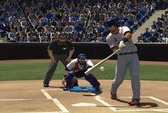 Hitting - MLB 2K10 Wiki Guide - IGN Casey At The Bat, Major League, Mlb, Basketball Court, Wrestling, Baseball, Sports, Lucha Libre, Baseball Promposals