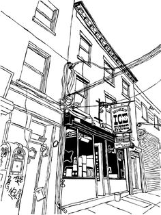 Finished inking for the stealthily fabulous Brooklyn Ice House.
