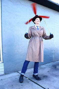 Inspector Gadget Costume (now just have to get the boys to love the show...  I have til October!)