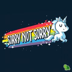Get comfortable in hundreds of cute, funny, and nerdy t-shirts. TeeTurtle has the perfect super soft shirt to make you smile! Unicorn Drawing, Unicorn Art, Cute Unicorn, Rainbow Unicorn, Animal Drawings, Cute Drawings, Unicorn Quotes, Rick E, Unicorn Pictures