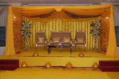 Pakistani Wedding Decorations and Muslim Wedding. First Day of the Celebration. (dilshil.com) For more great ideas and information about our waterfront venue visit our website www.tidewaterwedding.com or give us a call 443 786 7220 Asian Wedding Themes, Wedding Stage Decorations, South Asian Wedding, Wedding Mandap, Wedding Reception, Wedding Venues, Pakistani Wedding Stage, Wedding Organizer, Mehndi Decor