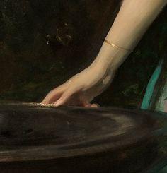 Classic Paintings, Old Paintings, John Singer Sargent, Art Hoe, Hand Art, Classical Art, Detail Art, Renaissance Art, Oeuvre D'art