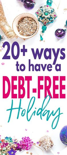 Christmas should not be the most expensive holiday of the year. Read this article for tips on how to stay debt free and save money this holiday season! via @lifeandabudget #christmasonabudget #budgeting #budget