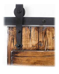 Add a touch of style to your space with WINSOON Black Heavy-Duty Steel Rolling Barn Door Hardware Kit for Single Wood Door with Non-Routed Floor Guide. Sliding Wood Doors, Sliding Barn Door Hardware, Rustic Hardware, Door Hinges, Barnyard Door, Barn Style Doors, The Doors, Into The Woods, Interior Barn Doors